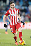 Atletico de Madrid's Saul Niguez during La Liga match. February 14,2016. (ALTERPHOTOS/Acero)