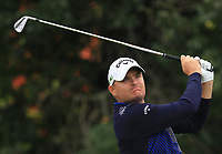 James Morrison (ENG) on the 6th tee during Round 3 of the D+D Real Czech Masters at the Albatross Golf Resort, Prague, Czech Rep. 02/09/2017<br /> Picture: Golffile | Thos Caffrey<br /> <br /> <br /> All photo usage must carry mandatory copyright credit     (&copy; Golffile | Thos Caffrey)