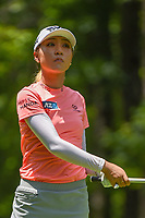 Lydia Ko (NZL) watches her tee shot on 2 during round 1 of the U.S. Women's Open Championship, Shoal Creek Country Club, at Birmingham, Alabama, USA. 5/31/2018.<br /> Picture: Golffile | Ken Murray<br /> <br /> All photo usage must carry mandatory copyright credit (&copy; Golffile | Ken Murray)
