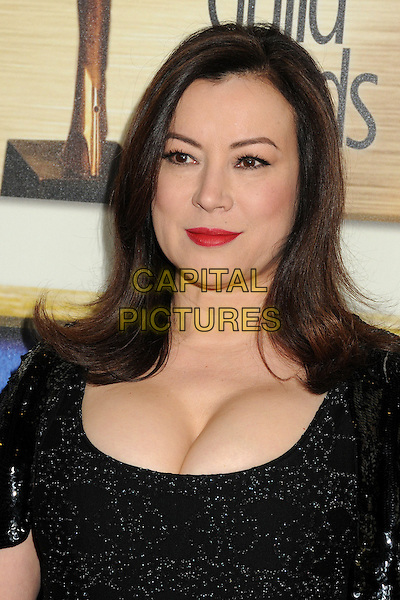1 February 2014 - Los Angeles, California - Jennifer Tilly. 2014 Writers Guild Awards West Coast held at the JW Marriott Hotel.  <br /> CAP/ADM/BP<br /> &copy;Byron Purvis/AdMedia/Capital Pictures
