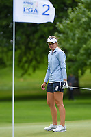 Luna Sobron Galmes (ESP) looks over her chip on 2 during the round 2 of the KPMG Women's PGA Championship, Hazeltine National, Chaska, Minnesota, USA. 6/21/2019.<br /> Picture: Golffile | Ken Murray<br /> <br /> <br /> All photo usage must carry mandatory copyright credit (© Golffile | Ken Murray)