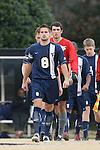 02 December 2007: West Virginia's Dan Stratford (ENG). The Wake Forest University Demon Deacons defeated the West Virginia University Mountaineers 3-1 at W. Dennie Spry Soccer Stadium in Winston-Salem, North Carolina in a Third Round NCAA Division I Mens Soccer Tournament game.