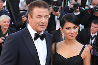 Alec Baldwin / Hilaria Thomas - 65th Cannes Film Festival