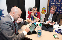 Vlatko Andronovski, Huw Williams. The NWSL draft was held at the Pennsylvania Convention Center in Philadelphia, PA, on January 17, 2014.