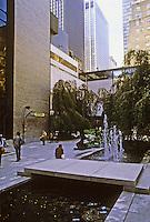 New York City: MOMA Sculpture Garden.