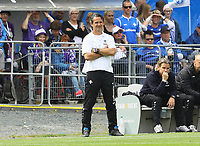 Trainer Dirk Schuster (SV Darmstadt 98) - 13.05.2018: SV Darmstadt 98 vs. FC Erzgebirge Aue, Stadion am Boellenfalltor, 34. Spieltag 2. Bundesliga