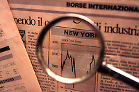 Finanza.Finance.Titoli di borsa.Share exchange...