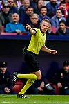 Referee Alejandro Jose Hernandez Hernandez in action during the La Liga 2018-19 match between Atletico de Madrid and Deportivo Alaves at Wanda Metropolitano on December 08 2018 in Madrid, Spain. Photo by Diego Souto / Power Sport Images