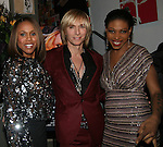 "Deborah Cox, Marc Bouwer and Suzanne ""Africa"" Engo attend MARC BOUWER's EXCLUSIVE SCREENING of the FW2010 film starring CANDICE SWANEPOEL at the Leo Kesting Gallery , New York- -February 18, 2010"