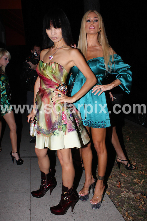 **ALL ROUND PICTURES FROM SOLARPIX.COM**.**WORLDWIDE SYNDICATION RIGHTS**.**NO PUBLICATION IN AUSTRALIA, NEW ZEALAND, DENMARK, GERMANY OR USA**.Bai Ling and Shauna Sand posing for paparazzi. Hollywood, California, USA. 25th September 2008..JOB REF: 7462 LAP (HD)       DATE: 25_09_2008 .**MUST CREDIT SOLARPIX.COM OR DOUBLE FEE WILL BE CHARGED* *UNDER NO CIRCUMSTANCES IS THIS IMAGE TO BE REPRODUCED FOR ANY ONLINE EDITION WITHOUT PRIOR PERMISSION*