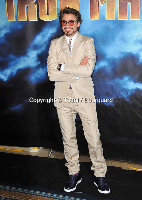Robert Downey Jr _45   -<br /> IRON MAN 2 Photo Call at the Four Seasons Hotel In Los Angeles.