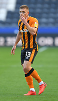 Hull City's Greg Docherty<br /> <br /> Photographer Dave Howarth/CameraSport<br /> <br /> The EFL Sky Bet League One - Hull City v Crewe Alexandra - Saturday 19th September 2020 - KCOM Stadium - Kingston upon Hull<br /> <br /> World Copyright © 2020 CameraSport. All rights reserved. 43 Linden Ave. Countesthorpe. Leicester. England. LE8 5PG - Tel: +44 (0) 116 277 4147 - admin@camerasport.com - www.camerasport.com