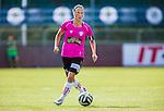 Solna 2014-08-16 Fotboll Damallsvenskan AIK - Kopparbergs/G&ouml;teborg FC :  <br /> Kopparbergs/G&ouml;teborgs Marlene Sj&ouml;berg i aktion <br /> (Foto: Kenta J&ouml;nsson) Nyckelord:  AIK Gnaget Kopparbergs G&ouml;teborg Kopparbergs/G&ouml;teborg portr&auml;tt portrait