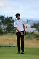 Harry Goddard (ENG) during Day 3 / singles of the Boys' Home Internationals played at Royal Dornoch Golf Club, Dornoch, Sutherland, Scotland. 09/08/2018<br /> Picture: Golffile | Phil Inglis<br /> <br /> All photo usage must carry mandatory copyright credit (&copy; Golffile | Phil Inglis)