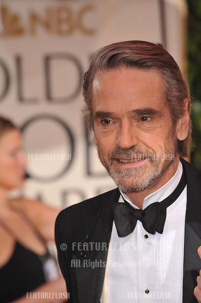 Jeremy Irons at the 67th Golden Globe Awards at the Beverly Hilton Hotel..January 17, 2010  Beverly Hills, CA.Picture: Paul Smith / Featureflash