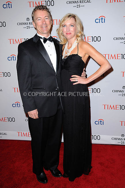 WWW.ACEPIXS.COM . . . . . .April 23, 2013...New York City....Rand Paul and Kelley Ashby attend TIME 100 Gala, TIME'S 100 Most Influential People In The World at Jazz at Lincoln Center on April 23, 2013 in New York City ....Please byline: KRISTIN CALLAHAN - ACEPIXS.COM.. . . . . . ..Ace Pictures, Inc: ..tel: (212) 243 8787 or (646) 769 0430..e-mail: info@acepixs.com..web: http://www.acepixs.com .