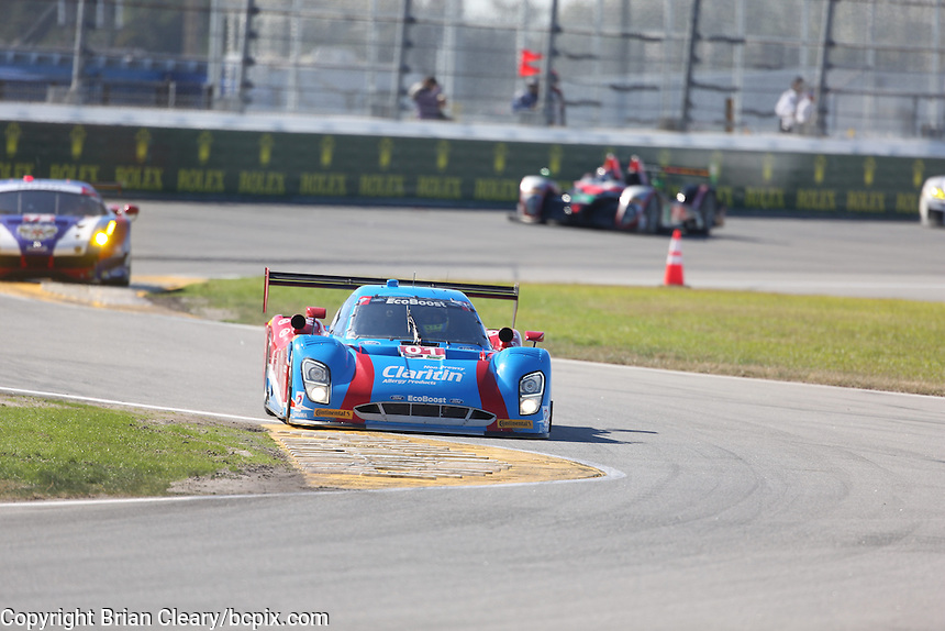 Rolex 24 at Daytona , IMSA WeatherTech Series race, Daytona International Speedway, Daytona Beach , FL January, 2016.  (Photo by Brian Cleary/www.bcpix.com)
