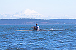 Port Townsend, Rat Island Regatta, rowers, Mike Walsh, Maas 24, racing, Sound Rowers, Rat Island Rowing Club, Puget Sound, Olympic Peninsula, Washington State, water sports, rowing, kayaking, competition,