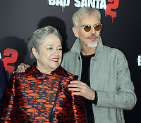 NEW YORK, NY November 15:Kathy Bates, Billy Bob Thornton at Broad Green Picture & Miramax's presents New York premiere of BAD SANTA 2 at AMC Loews Lincoln Square in New York City.November 15, 2016. Credit:RW/MediaPunch