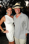 """Stacy and John Andell at the """"A Night in Havana""""  benefit at Concepcion on W. Alabama  Saturday July 21, 2012.(Dave Rossman/For the Chronicle)"""