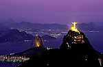 Estátua do Cristo Redentor. Rio de Janeiro. 1998. Foto de Ricardo Azoury.
