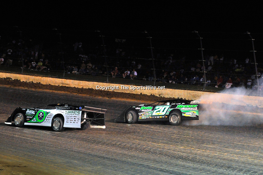 Jun 6, 2009; 11:15:46 PM; Rossburg, OH., USA; The running of the Dream XV  Dirt Late Models at the Eldora Speedway.  Mandatory Credit: (thesportswire.net)