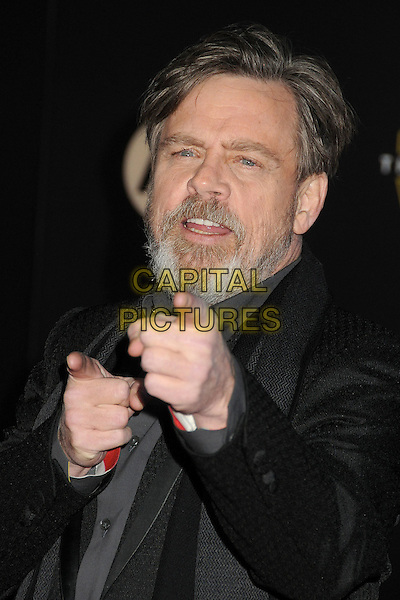 14 December 2015 - Hollywood, California - Mark Hamill. &quot;Star Wars: The Force Awakens&quot; Los Angeles Premiere held at multiple theaters on Hollywood Blvd. <br /> CAP/ADM/BP<br /> &copy;BP/ADM/Capital Pictures