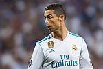 Cristiano Ronaldo of Real Madrid looks on during the UEFA Champions League 2017-18 match between Real Madrid and APOEL FC at Estadio Santiago Bernabeu on 13 September 2017 in Madrid, Spain. Photo by Diego Gonzalez / Power Sport Images