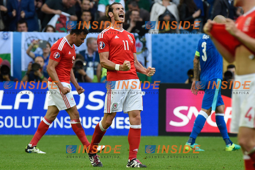 Gareth Bale Galles<br /> Bordeaux 11-06-2016 Stade de Brodeaux football Euro2016 Wales - Slovakia / Galles - Slovacchia Group Stage Group B. Foto Panoramic / Insidefoto