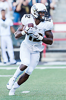 College Park, MD - SEPT 23, 2017: UCF Knights running back Taj McGowan (12) in action during game between Maryland and UCF at Capital One Field at Maryland Stadium in College Park, MD. (Photo by Phil Peters/Media Images International)