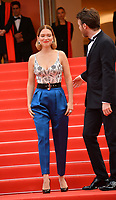 """CANNES, FRANCE. May 22, 2019: Lea Seydoux & Antoine Reinartz at the gala premiere for """"Oh Mercy!"""" at the Festival de Cannes.<br /> Picture: Paul Smith / Featureflash"""