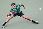 March 28 2017: Roger Federer (SUI) defeats Roberto Bautista Agut (ESP) by 7-6, 7-6 at the Miami Open being played at Crandon Park Tennis Center in Miami, Key Biscayne, Florida. ©Karla Kinne/tennisclix/EQ