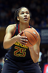 11 February 2013: Maryland's Alyssa Thomas. The Duke University Blue Devils played the University of Maryland Terrapins at Cameron Indoor Stadium in Durham, North Carolina in an NCAA Division I Women's Basketball game. Duke won the game 71-56.