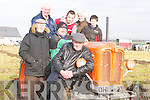 FINE DAY: Having a nice day at the Ardfert Ploughing Championships on Sunday were, l-r: Tomas Donegan (Ballyheigue), Liz O'Grady (Ballyduff), Derek O'Driscoll, Michael O'Driscoll, Eoin and Michael Dineen (Ballyheigue)..