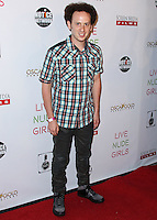 HOLLYWOOD, LOS ANGELES, CA, USA - AUGUST 12: Josh Sussman at the Los Angeles Premiere Of Screen Media Films' 'Live Nude Girls' held at Avalon on August 12, 2014 in Hollywood, Los Angeles, California, United States. (Photo by Xavier Collin/Celebrity Monitor)