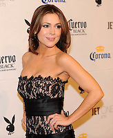 "Alyssa Milano poses on the red carpet at Playboy's ninth annual ""Super Saturday Night""  party in at Playboy's Desert Oasis and Resort in Chandler, Arizona Saturday February 2, 2008.   (Photo by Alan Greth)"
