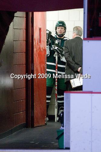Jim Gaudet (Dartmouth - 4) - The Harvard University Crimson defeated the Dartmouth College Big Green 4-1 (EN) on Monday, January 18, 2010, at Bright Hockey Center in Cambridge, Massachusetts.