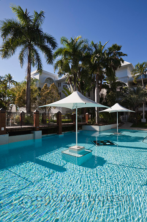 Swimming pool at Angsana Resort and Spa.  Palm Cove, Cairns, Queensland, Australia