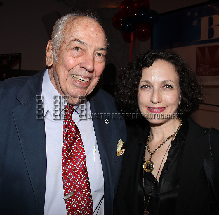 George S. Burns & Bebe Neuwirth.attending the Broadway League and Coalition of Broadway Unions and Guilds Presentation of The 3rd Annual Broadway Salutes in New York City.