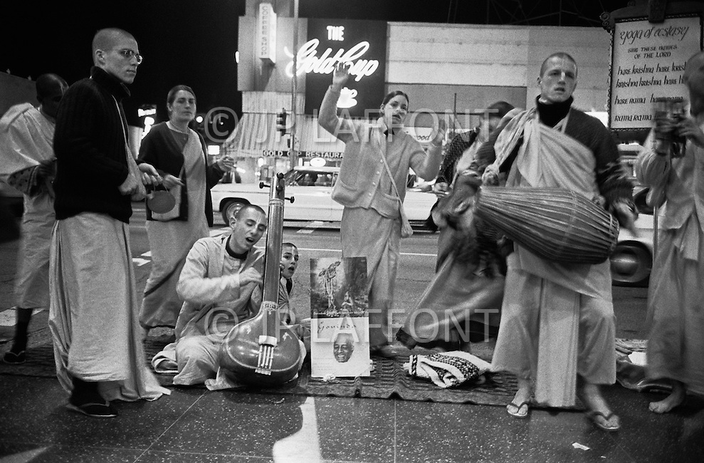 Sunset Boulevard, Hollywood, Los Angeles, CA - March 9, 1969<br />