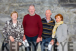 Enjoying the  Kerry Choral Union Summer Concert in Ardfert Cathedral on Sunday were Julia Scanlon, Willie O'Sullivan, Paddy O'Connor and Mary O'Connor