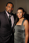 Duane Brown and his wife Devi at the Una Notte in Italia event at the Westin Galleria Hotel Friday Nov. 07, 2014.(Dave Rossman photo)