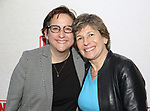Rabbi Sharon Kleinbaum and Randi Weingarten attends the Broadway Opening Night Performance of  'Indecent' at The Cort Theatre on April 18, 2017 in New York City.