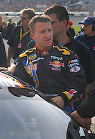 Feb 11, 2007; Daytona, FL, USA; Nascar Nextel Cup driver A.J. Allmendinger (84) during qualifying for the Daytona 500 at Daytona International Speedway. Mandatory Credit: Mark J. Rebilas