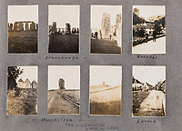 BNPS.co.uk (01202 558833)<br /> Pic: ForumAuctions/BNPS<br /> <br /> The group also visited other famous sights in the south including Stonehenge where Hardy's Tess had met her end.<br /> <br /> Extraordinary photo album reveals Thomas Hardy as personal tour guide around his most famous novel.<br /> <br /> A personalised photograph album documenting a guided tour of 'Casterbridge' that novelist Thomas Hardy gave a literary friend has emerged almost 100 years later.<br /> <br /> The famous author showed playwright John Drinkwater the real-life locations that inspired him to write the classic 1886 novel The Mayor of Casterbridge.<br /> <br /> Mr Drinkwater took photographs of various venues that feature prominently in the novel.<br /> <br /> He also captured some of the last images of Hardy who died two years later.