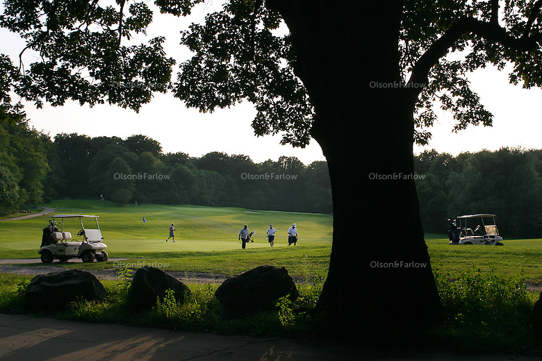Golf course was not originally planned in Franklin Park, part of Frederick Law Olmsted's Emerald necklace.