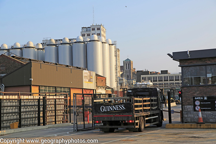 Guinness Brewery, St. James' Gate, Dublin, Ireland,  Irish Republic