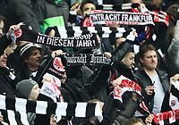 Fans von Eintracht Frankfurt - 26.01.2018: Eintracht Frankfurt vs. Borussia Moenchengladbach, Commerzbank Arena