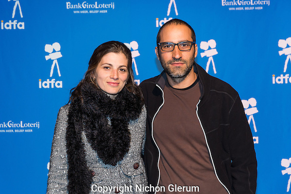 Amsterdam, 24-11-2016, IDFA International Documentary Filmfestival Amsterdam. Bruno Jorge en Fernanda Pretovan de film November December. Photo Nichon Glerum