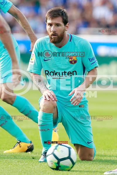 FC Barcelona's Leo Messi during La Liga match. August 26,2017. (ALTERPHOTOS/Acero) /NortePhoto.com